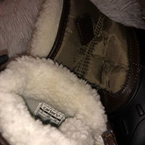 Carter's Shoes - Carter's Sherpa Lined Snow Boots